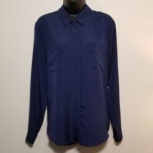 Blue Sheer Shirt